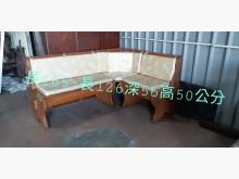 [9成新] 尋寶屋二手買賣~L型 木製沙發木製沙發無破損有使用痕跡