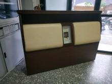 [9成新] 5尺 雙人 床頭箱 皮面靠背雙人床架無破損有使用痕跡