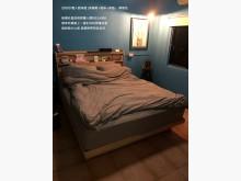 [9成新] 雙人床組雙人床架無破損有使用痕跡