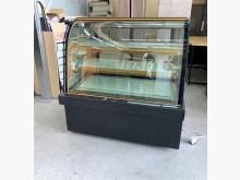[95成新] 4尺大理石圓玻蛋糕櫃/冷藏櫃冰箱近乎全新