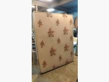[9成新] 雙面布料5呎傳統床墊雙人床墊無破損有使用痕跡