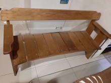[8成新] 南方松造型休閒椅餐椅有輕微破損