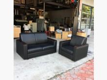 [95成新] 1+2黑色皮沙發組多件沙發組近乎全新