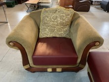 [9成新] 法式經典款高級款布沙發1+3多件沙發組無破損有使用痕跡