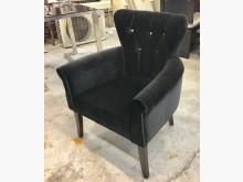 [全新] 晶鑽一人座黑色麂皮布沙發單人沙發全新