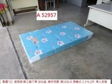 [95成新] A52957 藍天 3.3尺床墊單人床墊近乎全新