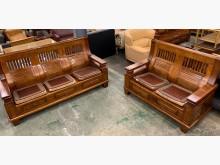 淡淡樟木香3+2實木沙發組木製沙發無破損有使用痕跡