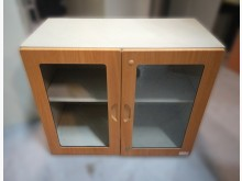 [9成新] C3028*木紋鐵櫃*辦公櫥櫃無破損有使用痕跡
