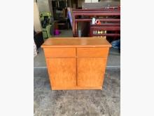 [8成新] 香榭二手家具*半實木3尺 小餐櫃碗盤櫥櫃有輕微破損