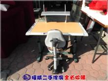 [9成新] 權威二手傢俱/首席兒童成長書桌椅書桌/椅無破損有使用痕跡