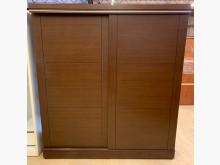 超強收納胡桃八抽滑門六尺衣櫥衣櫃/衣櫥無破損有使用痕跡