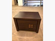 方形小格子造型床頭櫃/床邊櫃床頭櫃無破損有使用痕跡