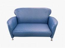 [全新] 全新小丸子藍色雙人沙發雙人沙發全新