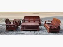 [9成新] 三合二手物流(紅木沙發組)木製沙發無破損有使用痕跡