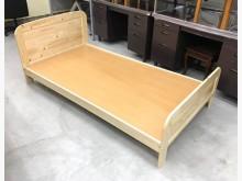 全新松木床架/3.5尺單人加大床單人床架全新