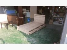 合運二手傢俱梧桐色單人床箱床頭櫃單人床架近乎全新