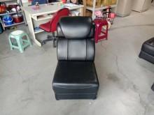 [9成新] 半牛皮單人沙發(黑中椅)單人沙發無破損有使用痕跡