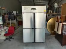 [95成新] 白鐵風冷上冷凍下冷藏四門冰箱冰箱近乎全新