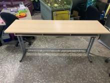 [9成新] 二手補習班桌 學習桌書桌/椅無破損有使用痕跡
