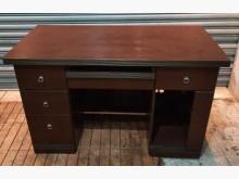 [8成新] 胡桃書桌書桌/椅有輕微破損