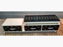 [8成新] 鋼烤伸縮電視電櫃電視櫃有輕微破損