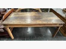 [9成新] 三合二手物流(原木餐桌)餐桌無破損有使用痕跡