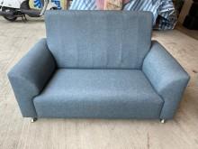 [全新] 巧達藍灰色3+2+1柔韌布沙發多件沙發組全新