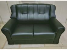 [全新] 138型透氣皮二人沙發 桃區免運雙人沙發全新