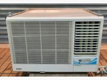 [8成新] 聲寶右吹2頓窗型冷氣(附遙控)窗型冷氣有輕微破損