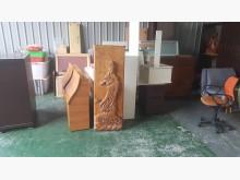 合運二手傢俱~樟木觀音大士木雕收藏擺飾有輕微破損