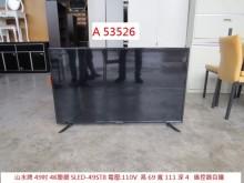 [9成新] A53526 山水49吋聯網電視電視無破損有使用痕跡