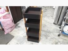 [全新] 手作實木貼皮~坡度可變收納架收納櫃全新