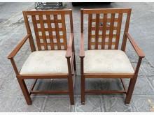 [9成新] 三合二手物流(精美實木椅組)書桌/椅無破損有使用痕跡