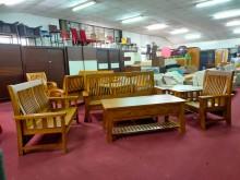[全新] 詩肯風正香樟木實木沙發*沙發椅組木製沙發全新