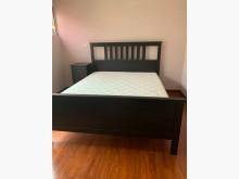 [95成新] IKEA雙人床組3件含彈簧床1折雙人床架近乎全新