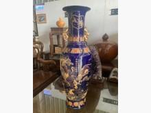 [9成新] 青花瓷 造型大花瓶*花器*盆栽*收藏擺飾無破損有使用痕跡