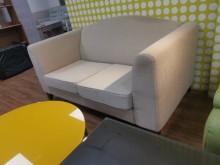 [9成新] 高貴不貴小倆口雙人布沙發雙人沙發無破損有使用痕跡