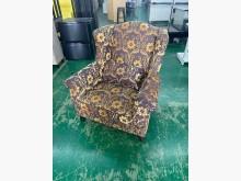 [9成新] 吉田二手傢俱❤歐風單人布沙發單人沙發無破損有使用痕跡