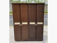 三合二手物流(精美5尺衣櫃)衣櫃/衣櫥有輕微破損