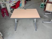 [95成新] 木紋鋁製合金腳坐電腦桌辦公桌電腦桌/椅近乎全新
