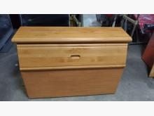 [9成新] 松木色3.5呎床頭箱(D)床頭櫃無破損有使用痕跡