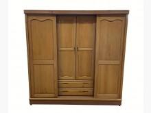 [7成新及以下] B41920*實木滑門衣櫃*衣櫃/衣櫥有明顯破損