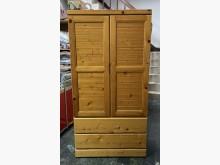 [9成新] 三合二手物流(松木單人衣櫃)衣櫃/衣櫥無破損有使用痕跡