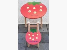 [8成新] 紅色兒童書桌椅書桌/椅有輕微破損