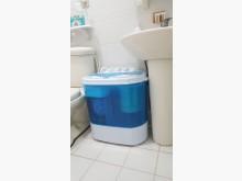 [9成新] 日本TAIGA大河迷你雙槽洗衣機洗衣機無破損有使用痕跡