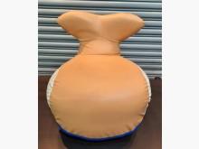 [8成新] 小魚皮矮凳單人沙發有輕微破損