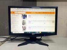 [9成新] Acer 19吋液晶螢幕電視無破損有使用痕跡