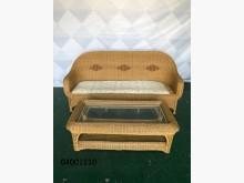 [9成新] 二手/中古 藤製沙發籐製沙發無破損有使用痕跡