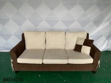 [9成新] 二手/中古 雙色3人座布沙發雙人沙發無破損有使用痕跡