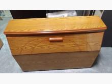 [9成新] 木紋3.5呎床頭箱床頭櫃無破損有使用痕跡